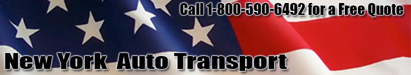 New York Auto Transport Shipping Logo
